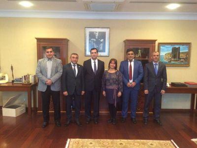 TUMİB üzvləri Türkiyənin yeni səfiri ilə görüşüblər