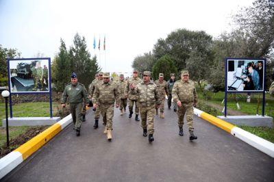 Введен в эксплуатацию новый учебно-тренировочный полигон Военно-воздушных сил Азербайджана