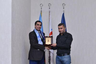 Гурбан Гурбанов – гость Бакинской Высшей школы нефти