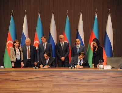 Azərbaycan və Rusiya vilayətləri arasında 12 sənəd imzalanıb  FOTOLAR