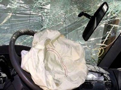 İki avtomobil toqquşdu 3 ölü, 4 yaralı