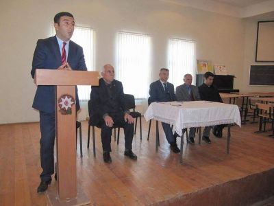 """Bərdədə """"Dövlət və din"""" mövzusunda tədbir keçirilib"""