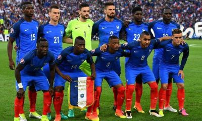 Fransa millisi İsveçlə oyun üçün heyətini açıqladı