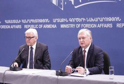 Главы МИД Германии и Армении обсудили карабахский конфликт