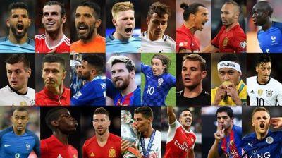 FİFA ilin ən yaxşı futbolçusu adına 23 namizədin adını açıqladı
