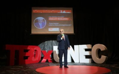UNEC-də TEDx konfransı keçirilib  FOTOLAR