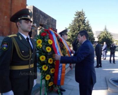Karapetyan Dağlıq Qarabağa gedib