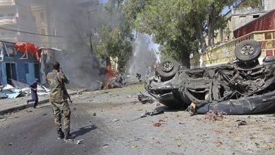 Somali parlamentinin qarşısında partlayış törədildi