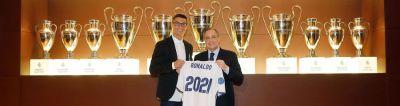 """""""Real Madrid"""" Ronaldo ilə müqaviləni 2021-ci ilədək uzatdı"""