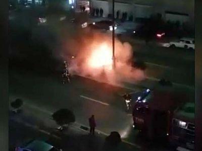 BMW yandı
