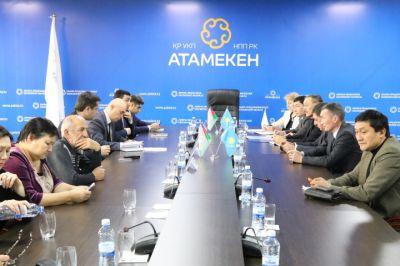 Azərbaycanlı iş adamları Qazaxıstanda  FOTOLAR