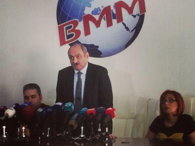 Ermənistanın hüquq müdafiəçiləri jurnalistlərin suallarını cavablandırıb