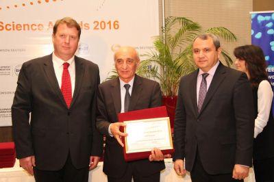 БГУ и журнал вуза удостоены награды «Web of Science – 2016»