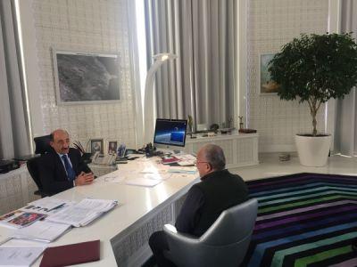 """Əbülfəs Qarayev """"Əlcəzirə"""" telekanalında"""
