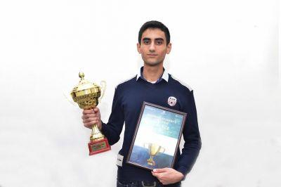 Студент БВШН стал победителем