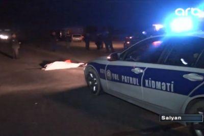 """""""Ford"""" 2 piyadanı vurub qaçdı 1 ölü, 1 yaralı"""