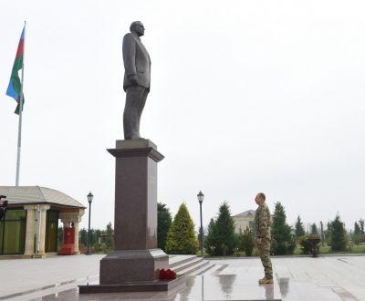 Президент Азербайджана Ильхам Алиев прибыл в Физулинский район
