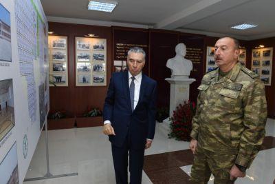 Prezident məcburi köçkünlər üçün salınan yeni qəsəbədə