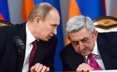 Putin Rusiya- Ermənistan sazişini təsdiqlədi FOTO