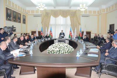 Состоялось заседание совместной рабочей группы по научно-техническому сотрудничеству между Азербайджаном и Беларусью Фотографии
