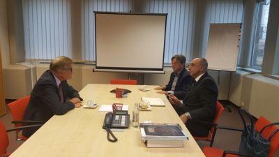 Lüksemburq Parlamentinin vitse-prezidenti ilə görüş keçirilib