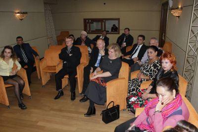 Musiqili Teatrda Rusiyanın teatr rəhbərləri ilə görüş keçirilib FOTOLAR