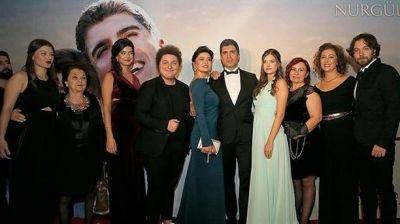 Özcan və Nurgülün filminin qala gecəsi olub  FOTOLAR