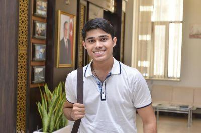 Иностранный студент БВШН: «Могу сказать, что Азербайджан – моя родина»