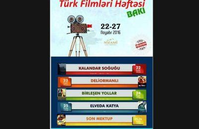 Bakıda pulsuz türk filmləri nümayiş olunacaq