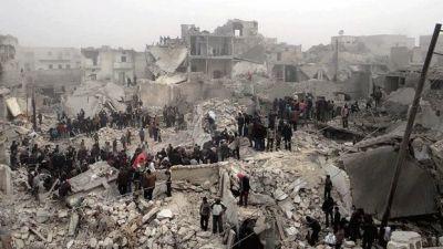 В Алеппо террористы расстреляли митинг мирных жителей