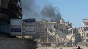 Terrorçular Hələb Universitetini raketlə vurdular