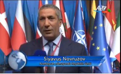 """Siyavuş Novruzov: """"Ermənilər hər toplantıda yalan söyləyirlər"""" AÇIQLAMA"""