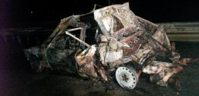 Goranboyda ağır yol qəzası: 1 nəfər ölüb, 3 nəfər yaralanıb