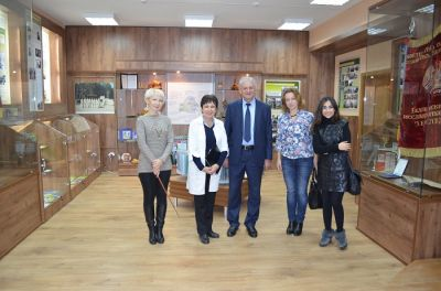 AMEA rəsmiləri Belarusda ezamiyyətdə olublar