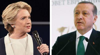 Эрдоган: Турецкие заговорщики дали Клинтон деньги на выборы