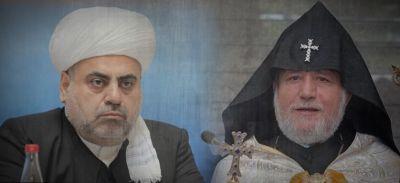 Шейх уль-ислам Пашазаде встретился с Гарегином II