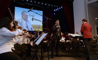 Xalq artistinin xatirəsinə musiqili gecə FOTOLAR