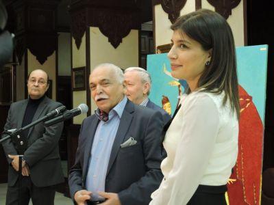 Milli Məclisin binasında rəsm sərgisi nümayiş etdirilib