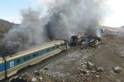 В Иране столкнулись пассажирские поезда, есть жертвы