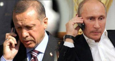 Putin və Ərdoğan arasında telefon danışığı olub