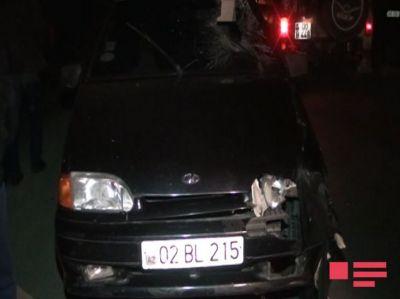 Ağdamda avtomobil piyadanı vuraraq öldürdü