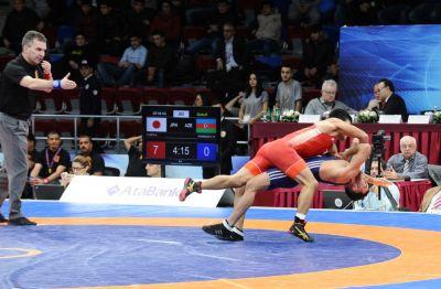 Daha bir güləşçimiz beynəlxalq turnirdə qızıl medal qazandı!