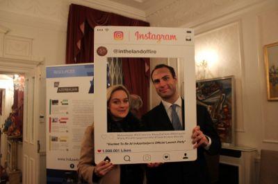 Londonda Azərbaycan haqqında internet portalı təqdim edildi  FOTOLAR