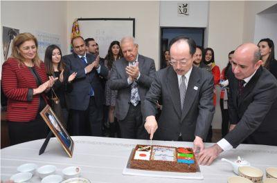 ADU-da Yaponiya İmperatorunun doğum gününə həsr olunan tədbir keçirilib FOTO
