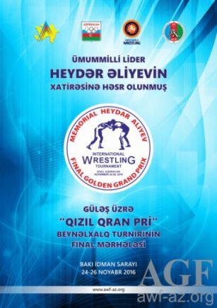 """Güləşçilərimiz doqquz ildə """"Qızıl Qran-pri""""də 63 qızıl medal qazanıblar"""