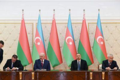 Azərbaycan və Belarus arasında əməkdaşlıq imzalanıb