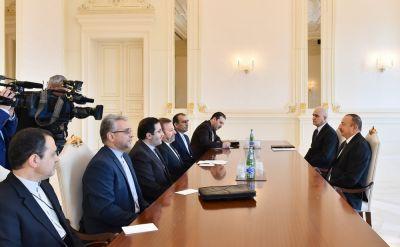 Президент Азербайджана принял делегацию из Ирана