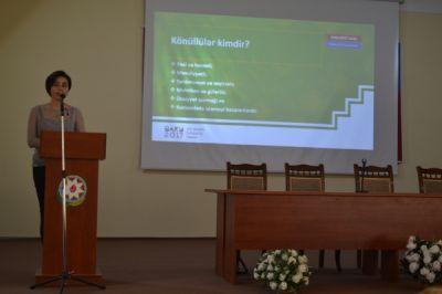 ATMU-da IV İslam Həmrəylik Oyunlarının könüllülük proqramının təqdimatı keçirilib FOTO