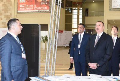 Президент ознакомился с выставкой «Bakutel 2016»