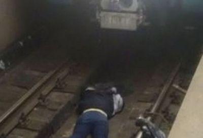 В Бакинском метрополитене попытка самоубийства